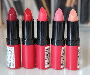 lipstick, makeup, and beauty image
