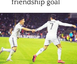 cristiano, friendship, and goals image