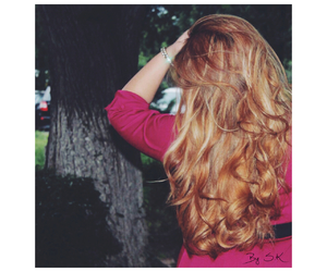 beauty, blonde, and curly image