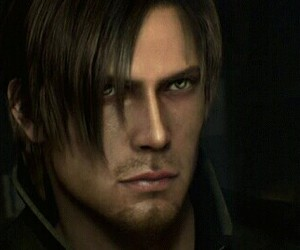 leon kennedy, gif, and resident evil image