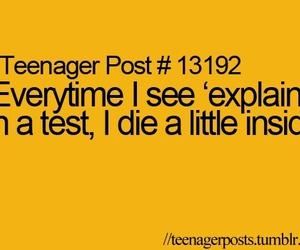teenager, die, and life image