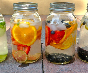 fruit and water image