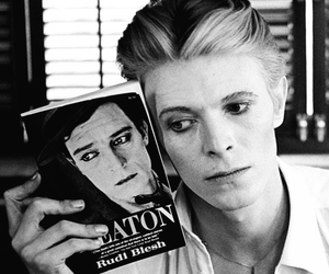 david bowie, bowie, and buster keaton image