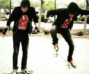 cool, elrubiusomg, and skate image