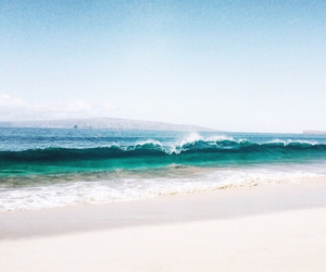 beach, natural, and nature image