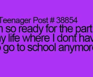 summer and goodbye school image