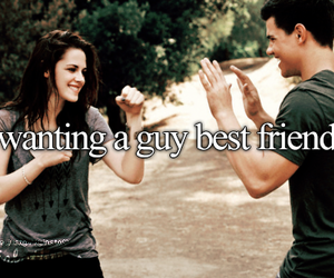 best friends, guy, and twilight image
