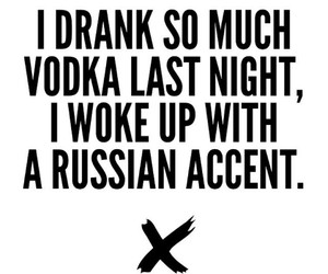 drunk, party, and vodka image