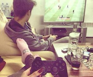 amor, jugando, and te amo image