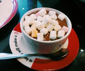 chocolate, marshmallow, and love image