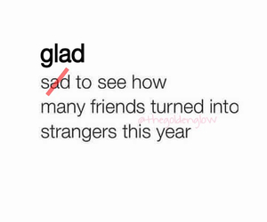 friends, sad, and quote image