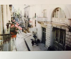 balcony, city, and feliz image