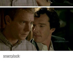 johnlock, love, and Martin Freeman image