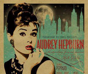 audrey hepburn, vintage, and Breakfast at Tiffany's image