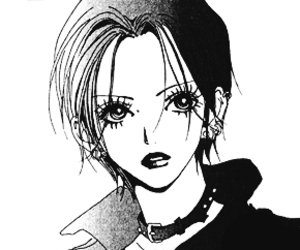 Nana, manga, and black and white image