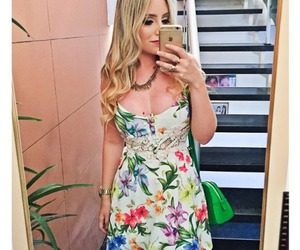 dress, floral, and look image