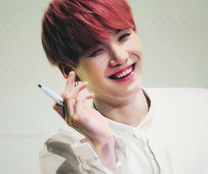korean, smile, and suga image
