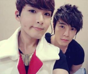 donghae, ryeowook, and super junior image