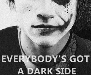 joker, dark, and dark side image