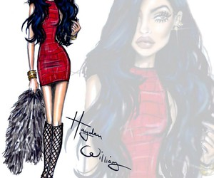 kylie jenner, hayden williams, and art image