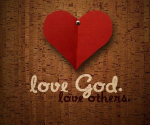 god, faith, and heart image