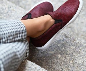 burgundy, look, and fashion image