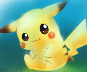 cute, pikachu, and pokemon image
