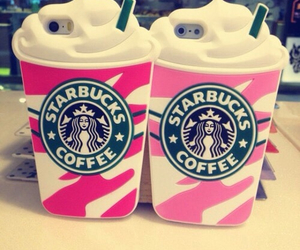 cases, starbucks, and iphone cases image