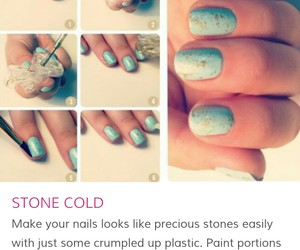 blue, diy, and stone image