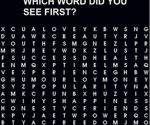 love, words, and money image