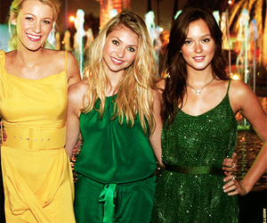 gossip girl and leighton meester image
