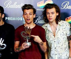 louis, harry, and liam image