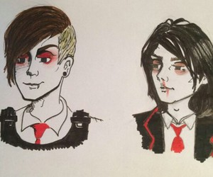 bands, bromance, and fan art image