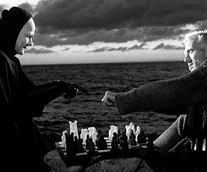 black and white and ingmar bergman image