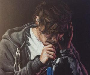 fan art, louis tomlinson, and one direction image