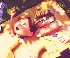love, up, and disney image