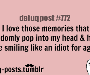 memories, funny, and quotes image