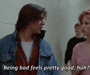 The Breakfast Club, quotes, and bad image