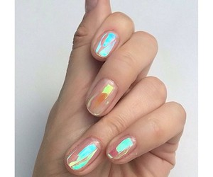 grunge, nailpolish, and nails image