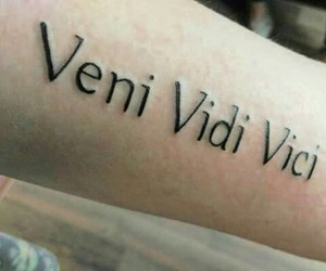tattoo, tatoeage, and venividivici image