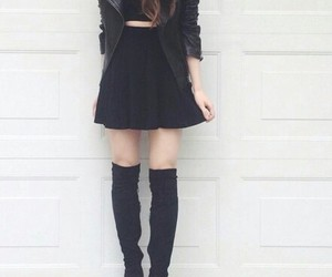amazing, black, and outfit image