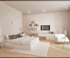 bedroom and white image