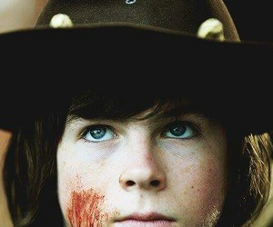 hermoso, the walking dead, and carl grimes image
