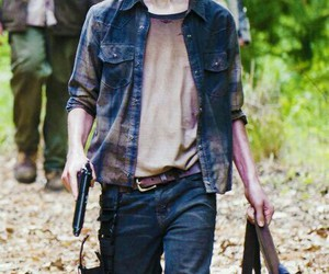 hermoso, twd, and carl grimes image