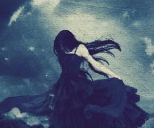 fallen, dark, and gothic image
