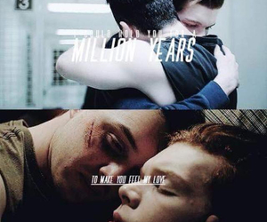 shameless us, ian gallagher, and mickey milkovich image