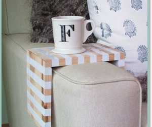 DIY Striped drink perch | Crafts, Indoors | aHousewife