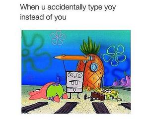 funny, spongebob, and true image