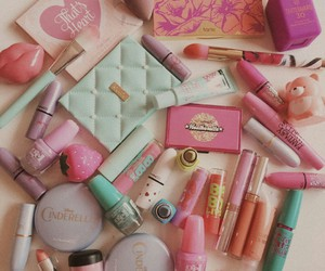 colorfull and makeupstuff image