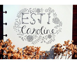 handwriting, lettering, and typography image